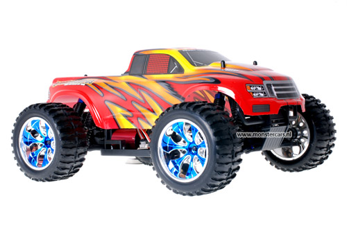 Himoto Brushless Truck Firestorm 2.4GHz AANBIEDING!
